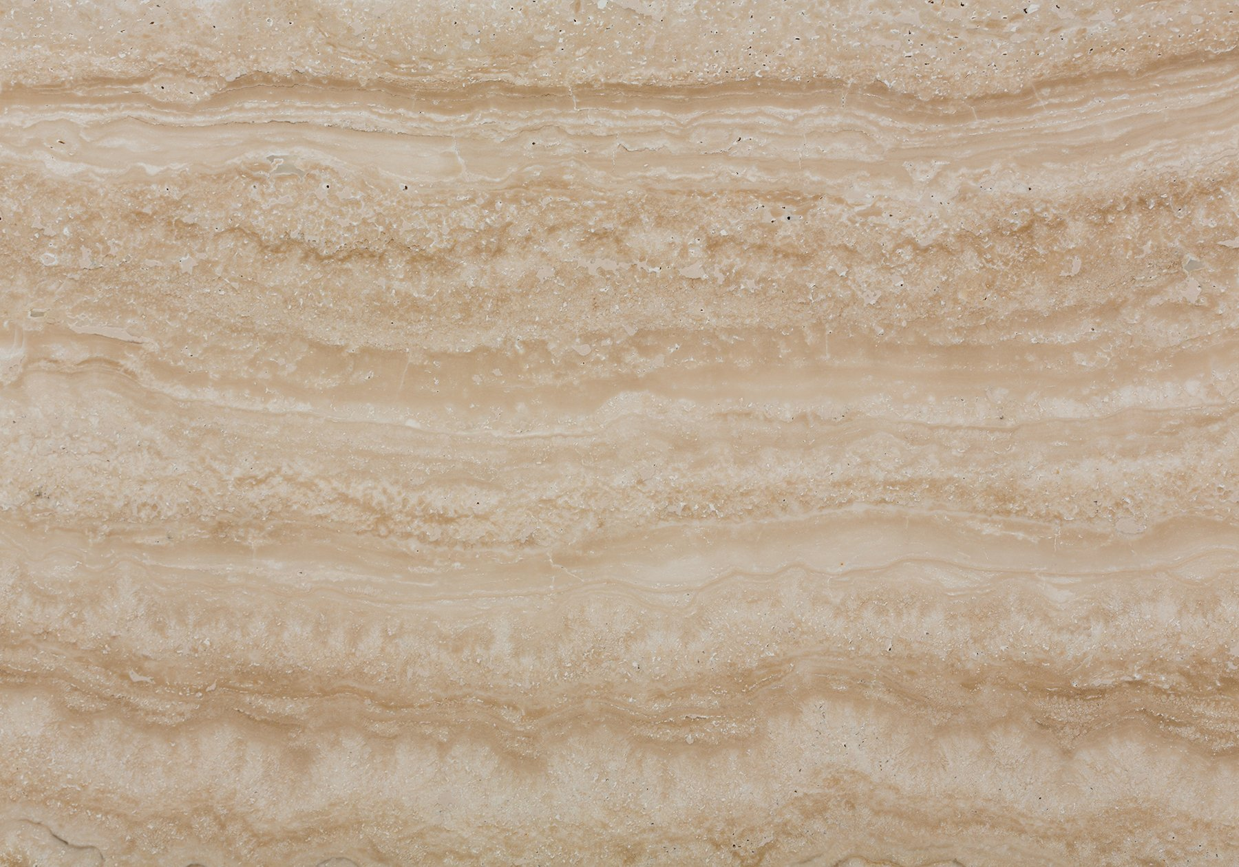 Filled and Polished Travertine